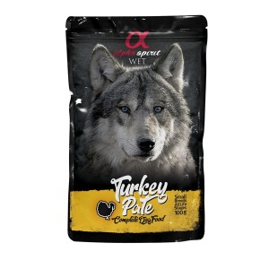 AlphaSpirit DOG with turkey 100g