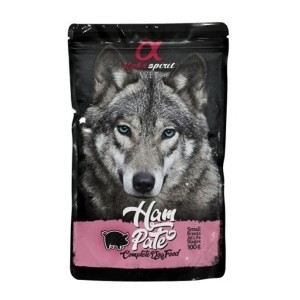 AlphaSpirit DOG with HAM 100g