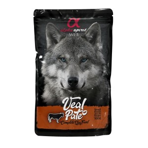 AlphaSpirit DOG with VEAL100g