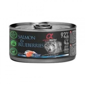 AlphaSpirit DOG SALMON & BLUEBERRY 150g