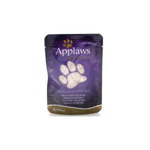 APPLAWS cat Chicken & Wild Rice 70g