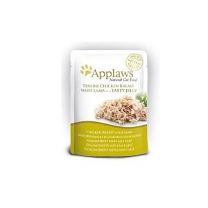 APPLAWS Yelly Chicken&Lamb  cat 70g