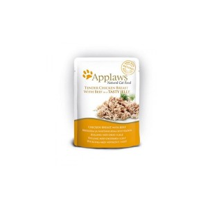 APPLAWS Yelly Chicken&Beef cat 70g