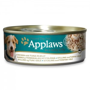 APPLAWS DOG chicken & tuna in jelly 156g