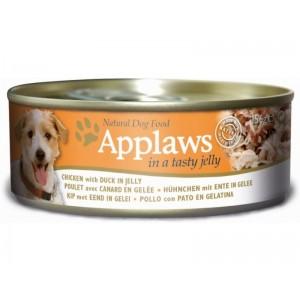 APPLAWS DOG chicken & duck jelly 156g