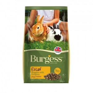Burgess EXCEL RABBIT Adult Oregano 2,0 kg