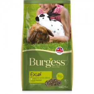 Burgess EXCEL RABBIT Adult Mint 2,0 kg