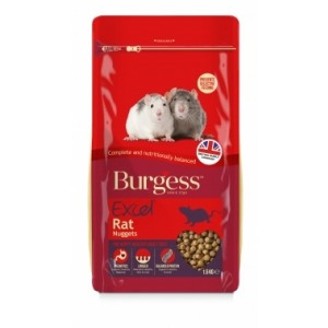 Burgess EXC RAT NUGGITS rat food 1,5 kg