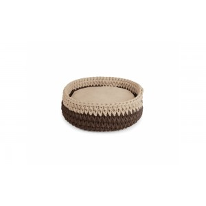 Camon Round woven bed ¤ 40cm
