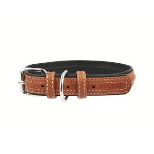 CO collar 10mmx22-30cm brown