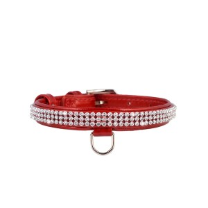 CO collar BRI 20mm/30-39cm red