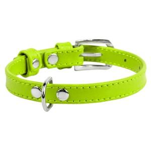 CO collar 9mm18-21cm green