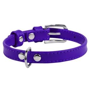 CO collar 9mm18-21cm purple
