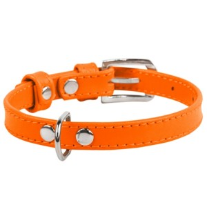 CO collar 9mm19-25cm orange
