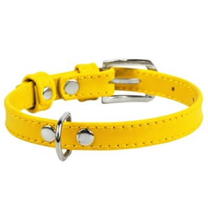 CO collar 9mm18-21cm yellow