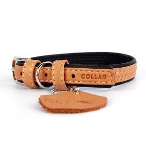 CO collar 25mmx38-50cm brown