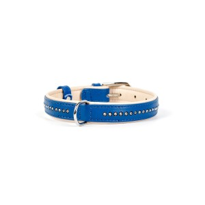 CO collar CRY 15mmx21-27cm blue