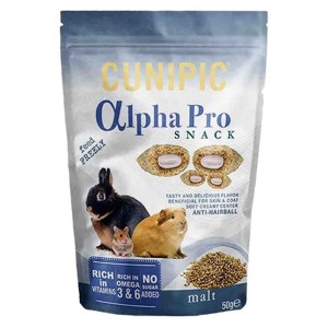 CUNIPIC APPHA PRO SNACK MALTA 50g