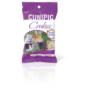 CUNIPIC SNACK CRUKISS with fruits 100g