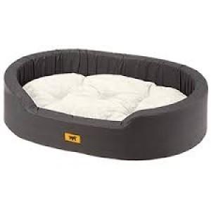 FP. Cushion DANDY grey - black 55cm