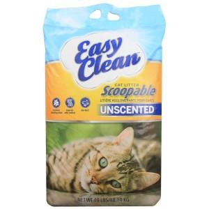 EasyClean UNSCENTED cat litter 9,07kg