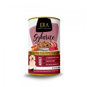 ERA SYB ADULT TUNA,PORK&SWEET POT.400g