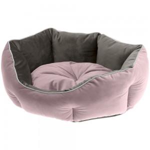 FP. comfort bed QUEEN purple/grey 45 cm