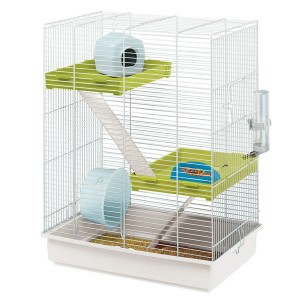 FP. Cage HAMSTER TRIS White for rodents