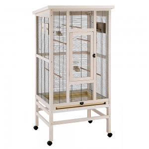 FP. bird cage WILMA wood 83x67x158cm