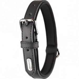 Fla.collar BINTI black 24-30cm/15mm