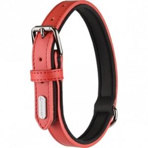 Fla.collar BINTI red 24-30cm/15mm
