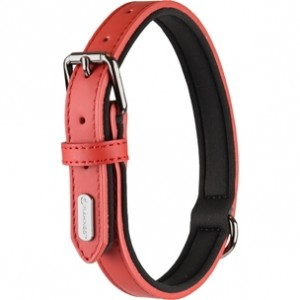 Fla.collar BINTI red 29-35cm/15mm