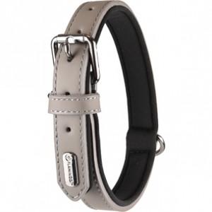 Fla.collar BINTI grey 31-39cm/20mm