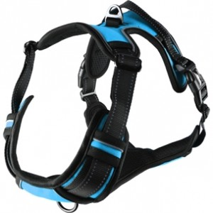Fla.harness BALOU blue 60-85cm/25mm