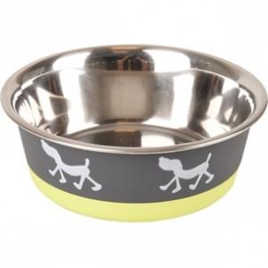 Fla.bowl SILHO grey/green 900ml 17,3cm