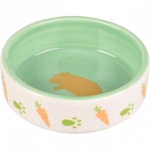 Fla. ceramic bowl for rodents AILA