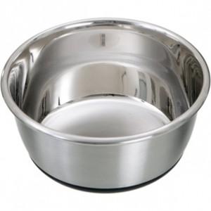 Fla. dog bowl SELECTA silver 950ml