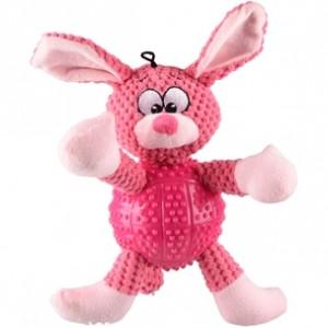 Fla. TPR toy rabbit BESS pink 32 cm
