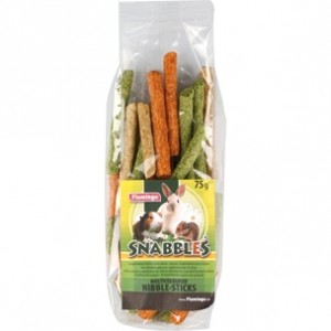 Fla. SNABBLES NIBBLE treat for dogs 75g