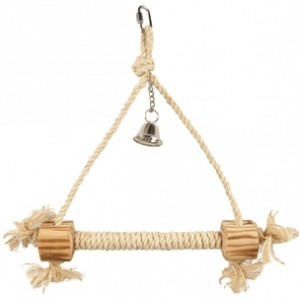 Fla. toy for birds with bell