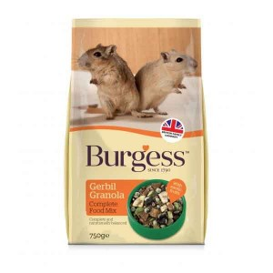 Burgess Gerbil Granola Complete Food Mix 750 g