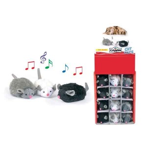 Camon Squeaking Mouse Cat Toy 7 cm