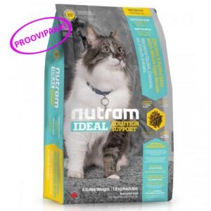 Nutram I17 Ideal Solution Support Indoor Cat Foof 100g