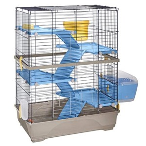 Imac DOUBLE 80 rodents cage blue/red