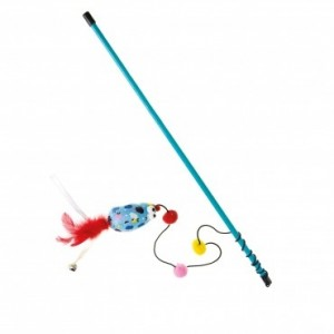Imac cat toy CANE WITH MOUSE 47cm