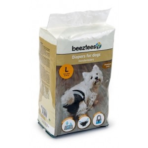 IPTS Diapers for Dogs M 12 pc