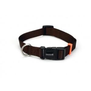 IPTS- Dog Collar NAILO 20*35-50cm brown