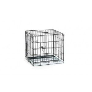 IPTS Cage 2 doors black 63x55x61cm