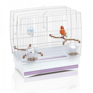 Imac IRENE 2 bird cage silver/brown