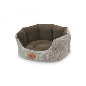 Nobby Comfort Bed Oval Josi brown 86x70x24